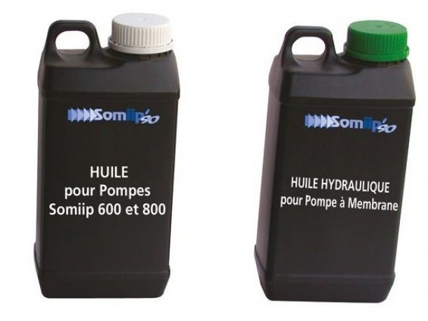 HUILE Pompe Membrane ou Pistons